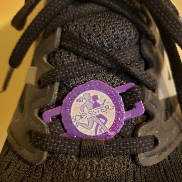 Purple Shoe Bling