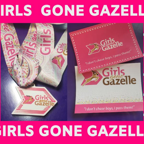 Girls Gone Gazelle Virtual Race Kit