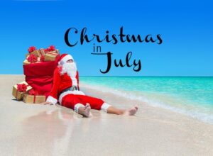 Christmas in July Announcement